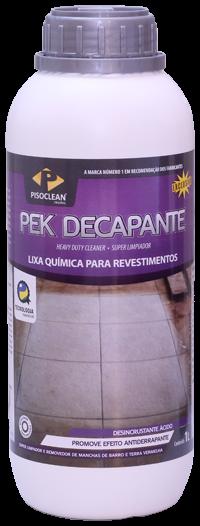 DECAPANTE PEK  1 LITRO PISOCLEAN
